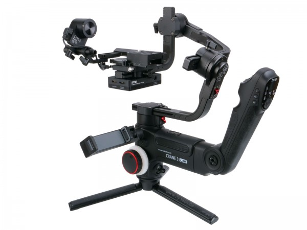 Zhiyun Crane 3 LAB Pro Kit mit Follow Focus Motor und Smartphone Mount